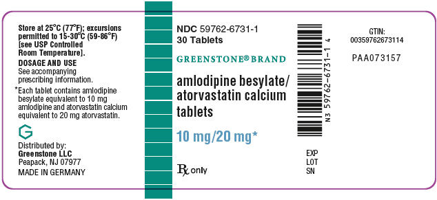 PRINCIPAL DISPLAY PANEL - 10 mg/20 mg Tablet Bottle Label