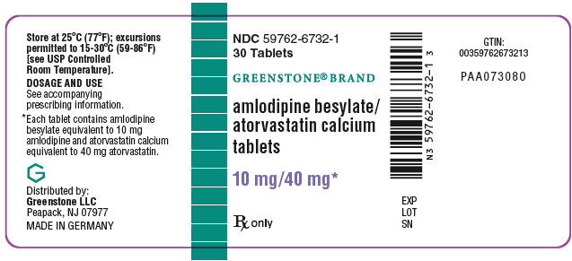 PRINCIPAL DISPLAY PANEL - 10 mg/40 mg Tablet Bottle Label