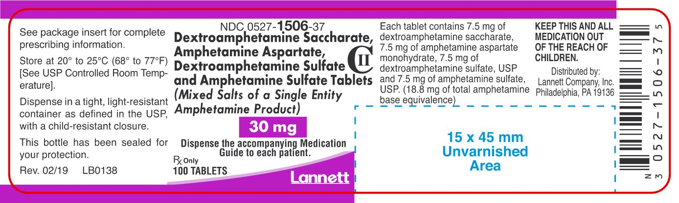 30 mg Container Label 100 ct