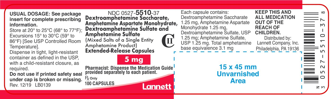 amphetamine-er-container-label-5mg-100ct