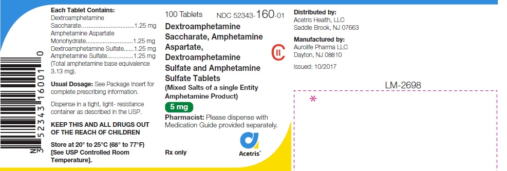amphetaminemixed5mg100ct