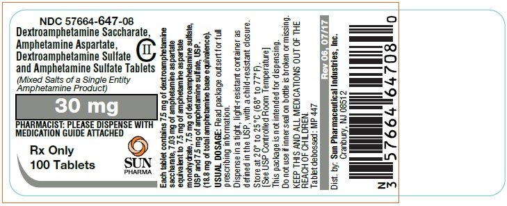 PRINCIPAL DISPLAY PANEL - 30 mg Tablet Bottle Label