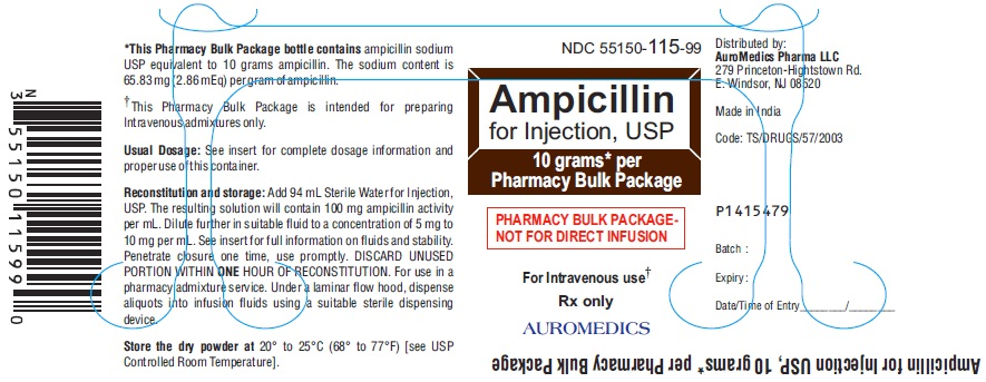 PACKAGE LABEL-PRINCIPAL DISPLAY PANEL - 10 grams Pharmacy Bulk Package – Container Label