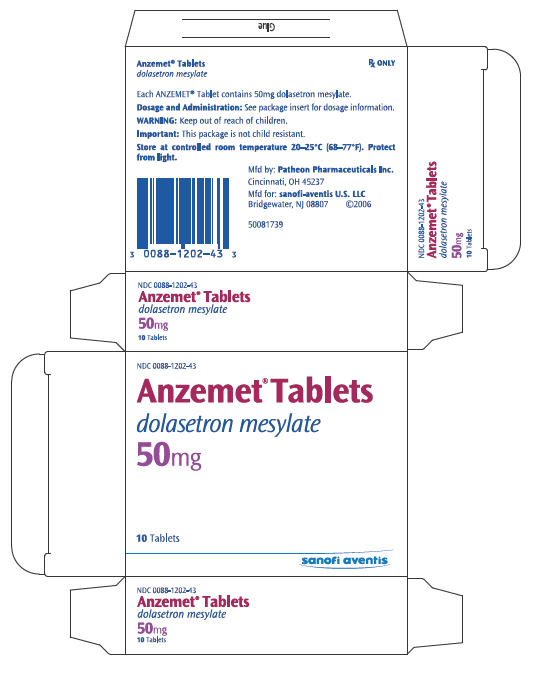 PRINCIPAL DISPLAY PANEL - 50 mg Tablet Carton