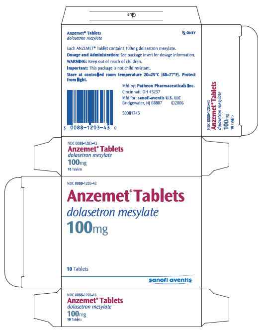 PRINCIPAL DISPLAY PANEL - 100 mg Tablet Carton