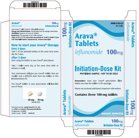 PRINCIPAL DISPLAY PANEL - 100 mg Carton