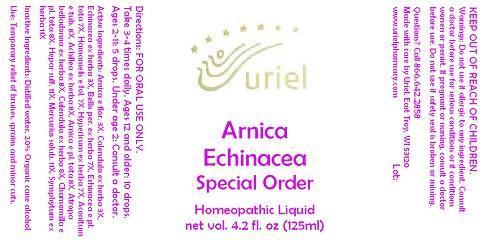Arnica Echinacea Special Order Liquid Breastfeeding