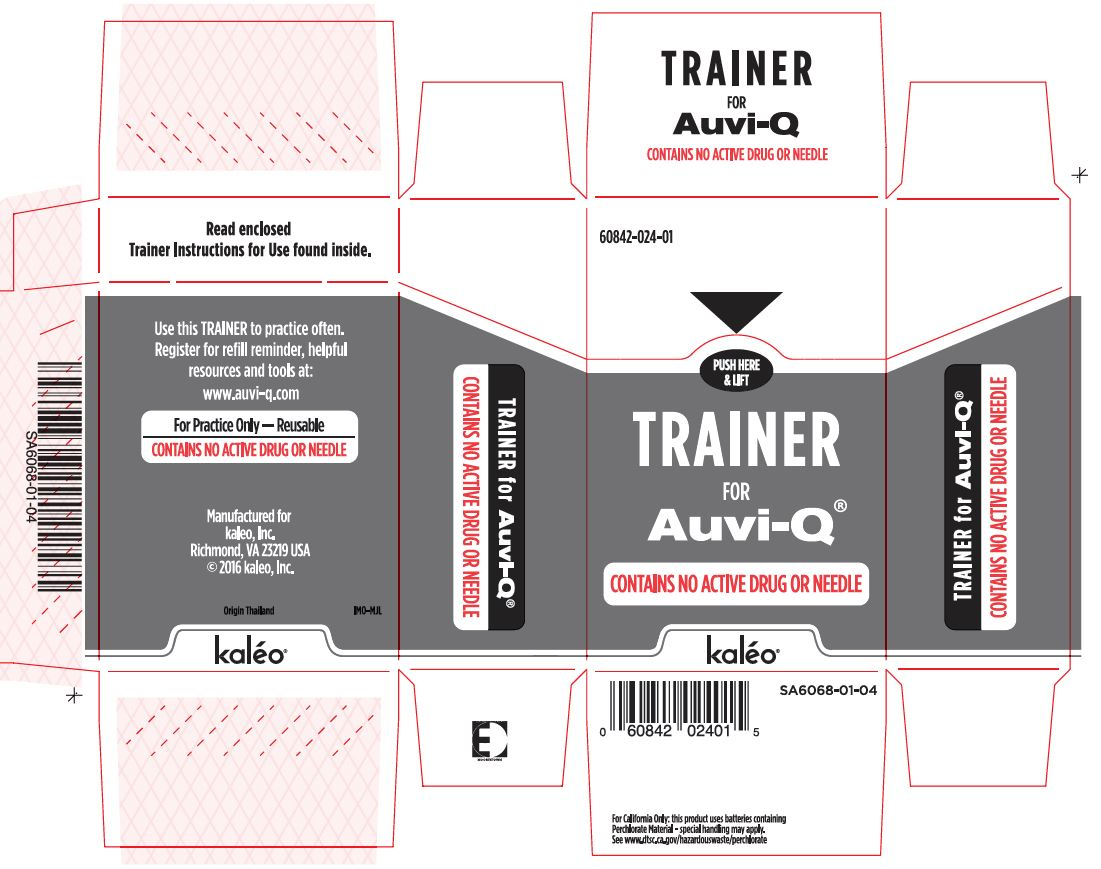 Trainer Carton Label (Supplied with 0.3 mg and 0.15 mg Auto-Injectors)