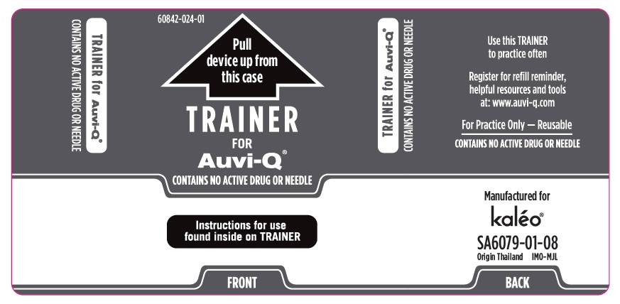 Trainer Outer Case Label (Supplied with 0.3 mg and 0.15 mg Auto-Injectors)