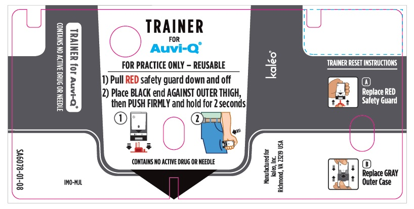 Trainer Device Label (Supplied with 0.3 mg and 0.15 mg Auto-Injectors)