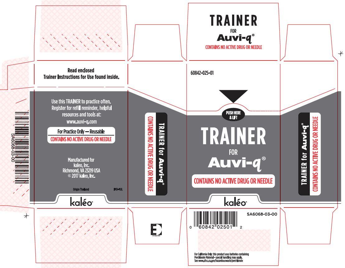 Trainer Carton Label (Supplied with 0.1 mg Auto-Injectors)
