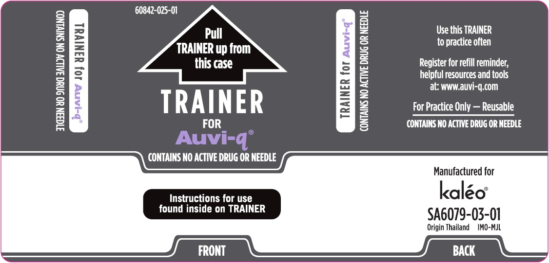 Trainer Outer Case Label (Supplied with 0.1 mg Auto-Injectors)