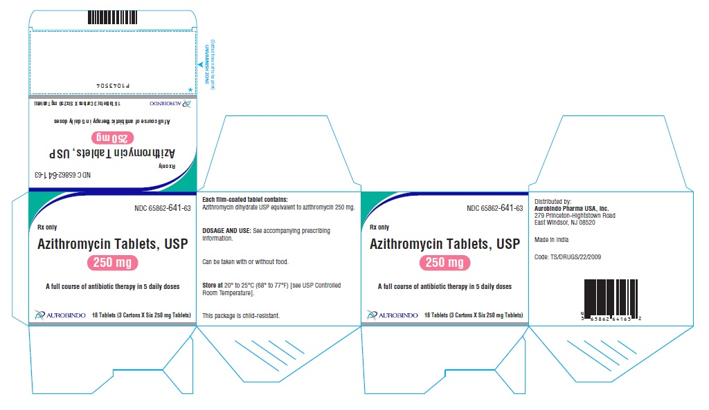 PACKAGE LABEL-PRINCIPAL DISPLAY PANEL - 250 mg (3 x 6) Unit-dose Tablets