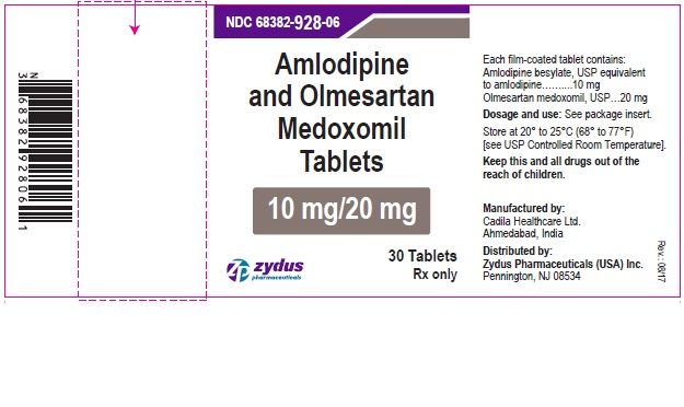 Amlodipine and olmesartan medoxomil  tablets