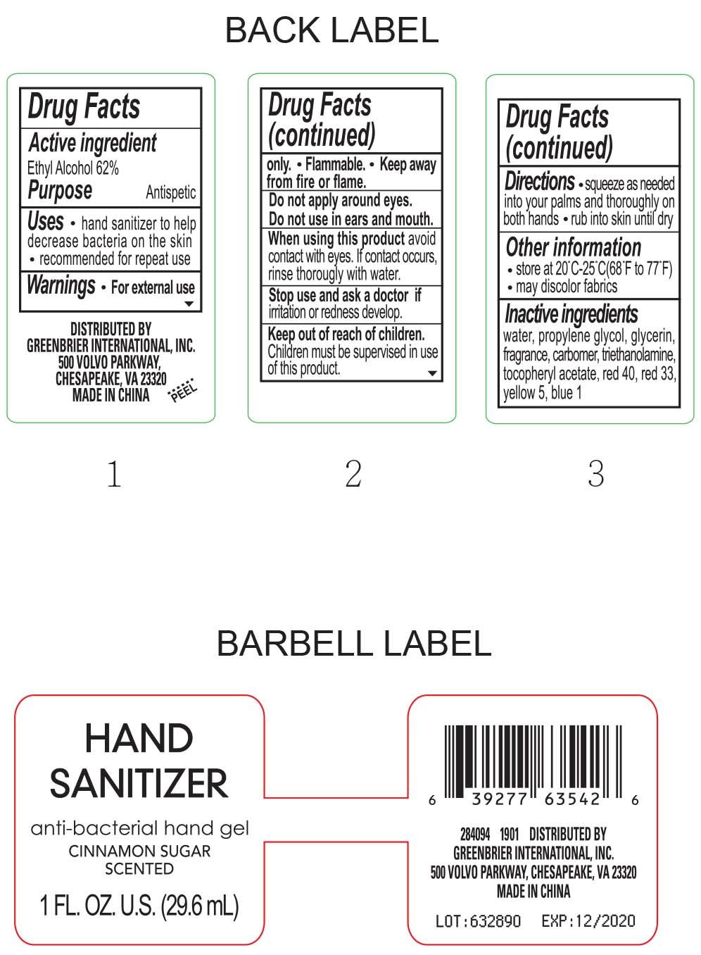 Is Cinnamon Sugar Scented Hand Sanitizer | Ethyl Alcohol Gel safe while breastfeeding