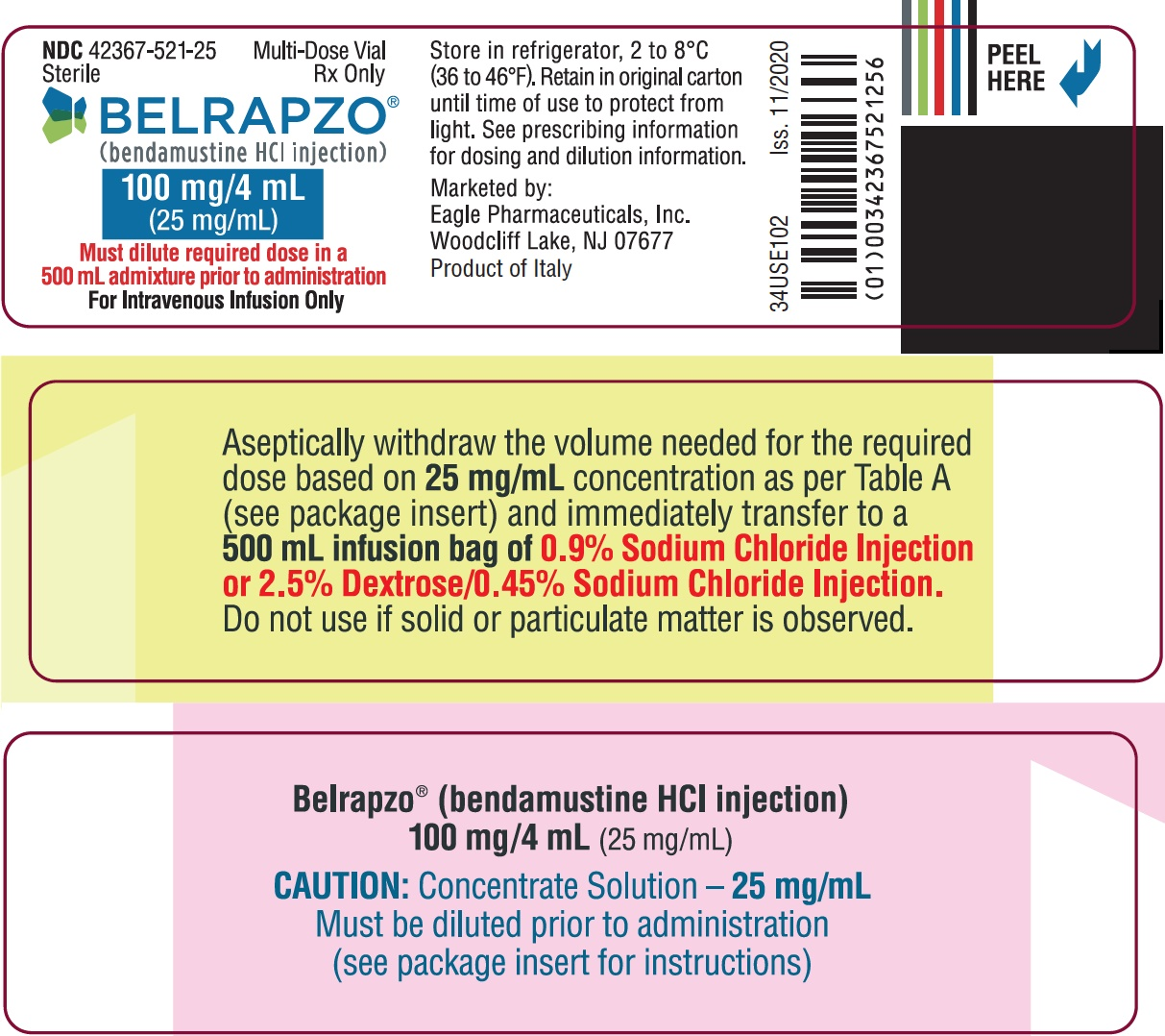 Vial Label (Front)