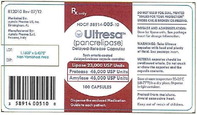 Lipase 23,000 USP Bottle