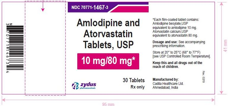 Amlodipine and Atorvastatin Tablets, USP