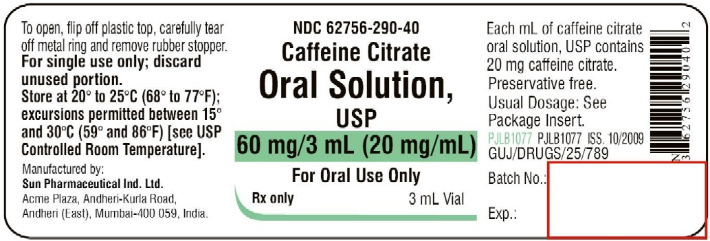 caffeine-solution-3mL vial label