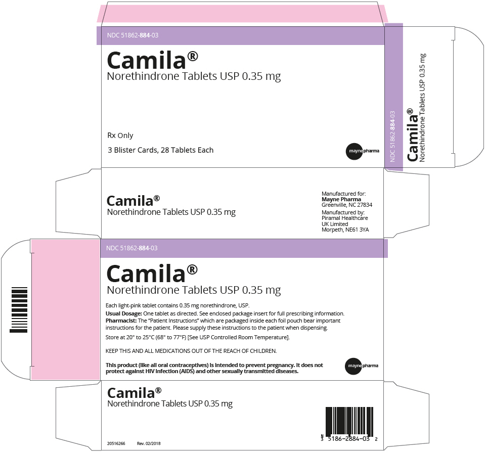 PRINCIPAL DISPLAY PANEL - 0.35 mg Tablet Blister Pack Carton