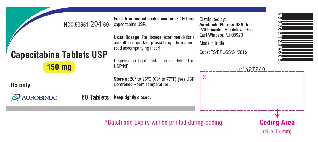 PACKAGE LABEL.PRINCIPAL DISPLAY PANEL - 150 mg (60 Tablets Bottle)