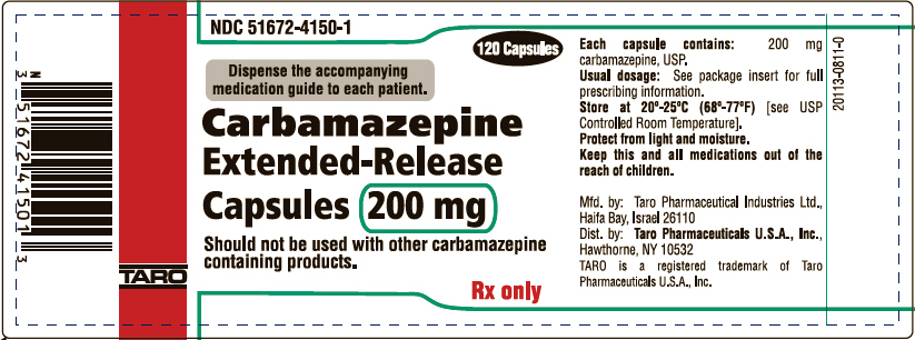 Principal Display Panel - 200 mg Capsule Bottle Label