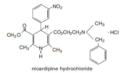 Cardene Sr   Nicardipine Hydrochloride Capsule, Extended Release Breastfeeding
