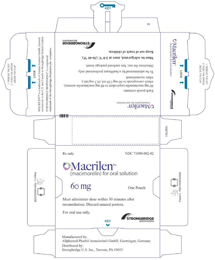 Principal Display Panel - Macrilen Carton Label