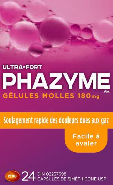 Phazyme | Simethicone Capsule, Gelatin Coated while Breastfeeding