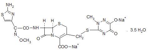 Ceftriaxone Powder, For Solution and breastfeeding