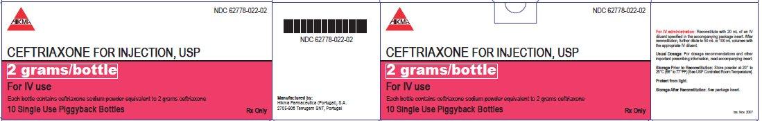 Ceftriaxone Powder, For Solution while Breastfeeding