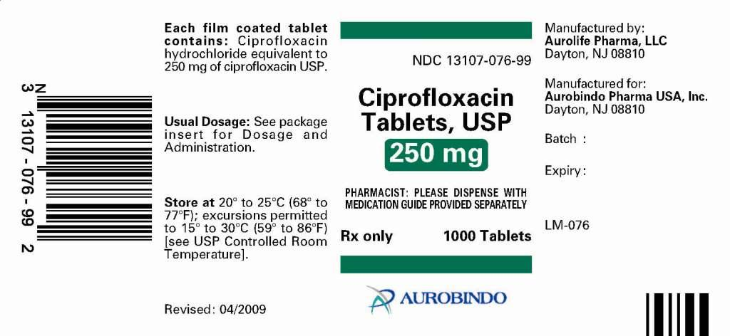 PACKAGE LABEL.PRINCIPAL DISPLAY PANEL - 250 MG (1000 TABLETS BOTTLE)