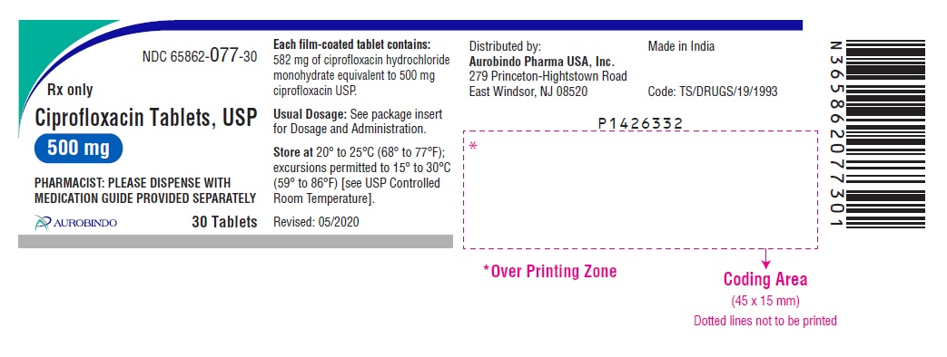 PACKAGE LABEL-PRINCIPAL DISPLAY PANEL - 500 mg (30 Tablets Bottle)