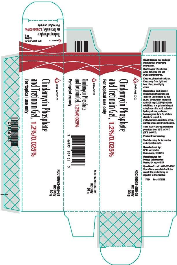 Clindamycin and Tretition 30gr Carton