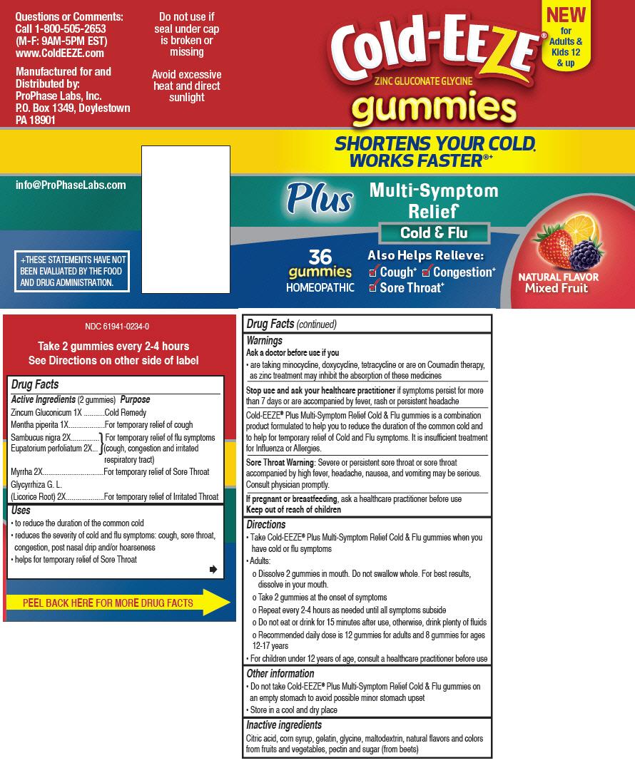 Cold-EEZE® Gummies Plus Multi-Symptom