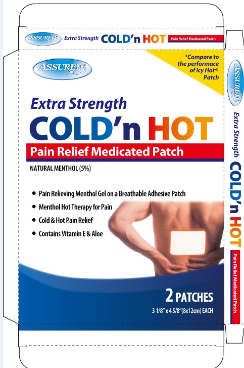 Extra Strength Cold N Hot Pain Relief Medicated   Menthol Patch while Breastfeeding