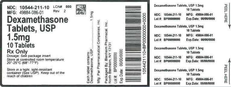 Label Graphic- 1.5 mg 10 tablets