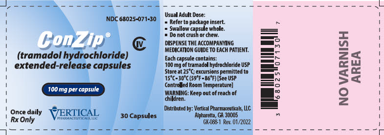 Principal Display Panel – 100 mg Bottle Label