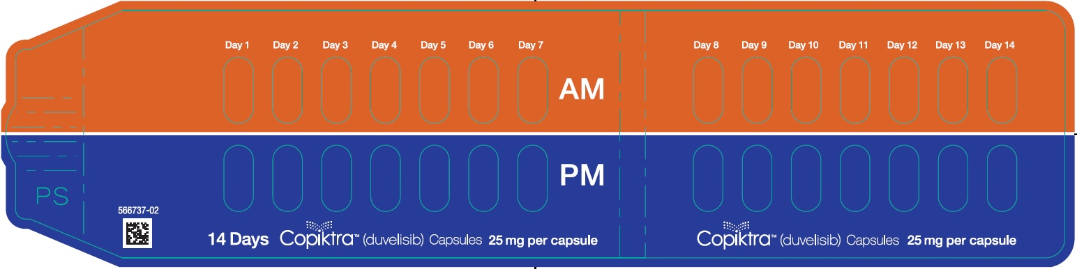 25 mg Capsule 14-day 28-count Single Blister Pack
