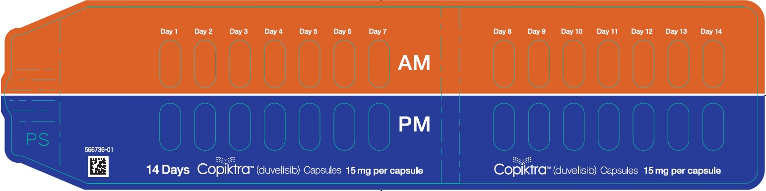 15 mg Capsule 14-day 28-count Single Blister Pack