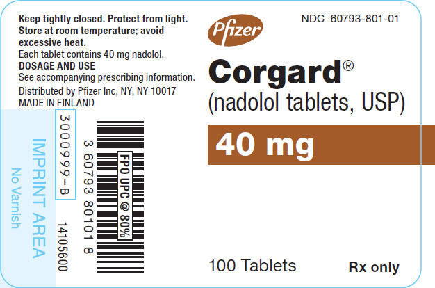 PRINCIPAL DISPLAY PANEL - 40 mg Tablet Bottle Label