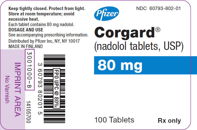 PRINCIPAL DISPLAY PANEL - 80 mg Tablet Bottle Label