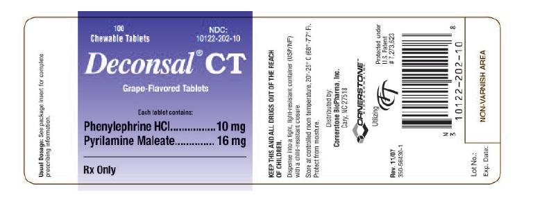 Deconsal Ct Tablet, Chewable Breastfeeding