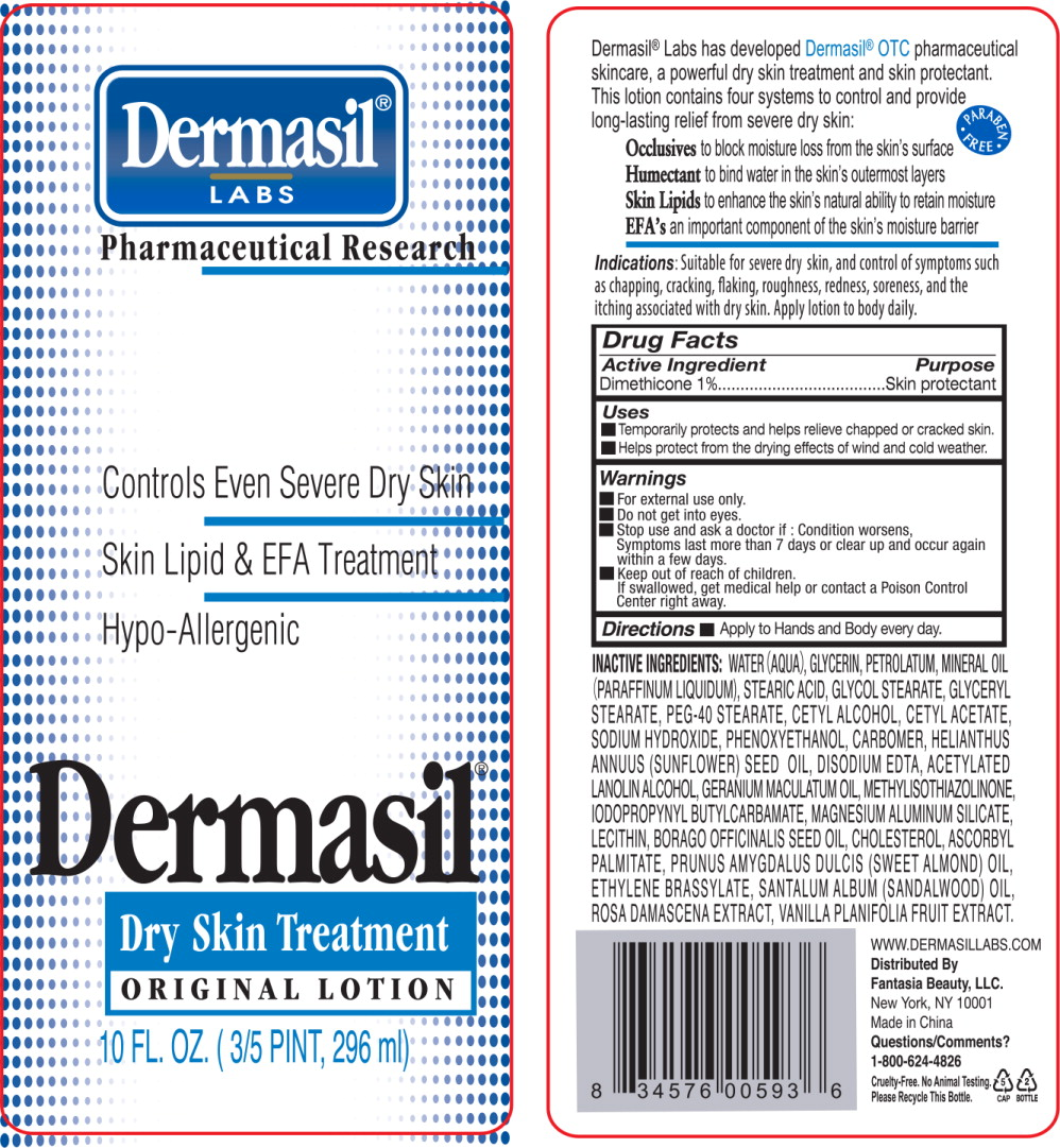 Principal Display Panel - Dermasil Dryskin 10 Bottle Label