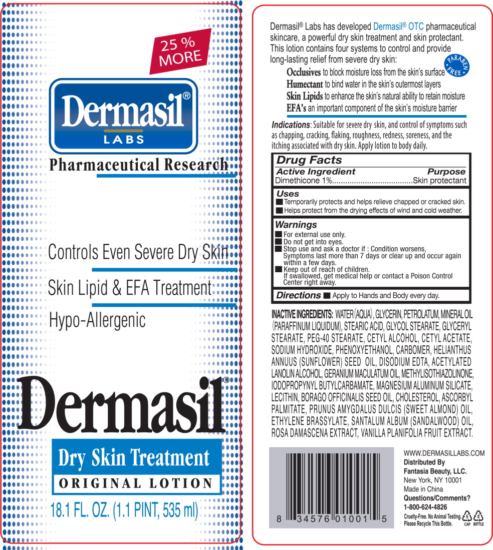 Principal Display Panel - Dermasil Dryskin 18.1 Bottle Label