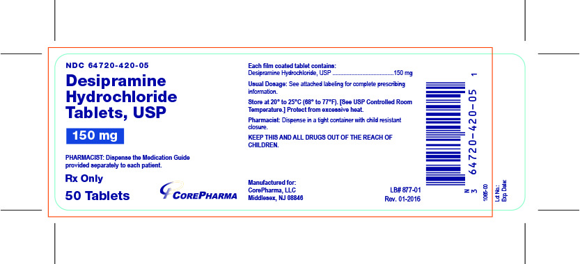 Container Label - 150 mg - NDC 64720-420-05