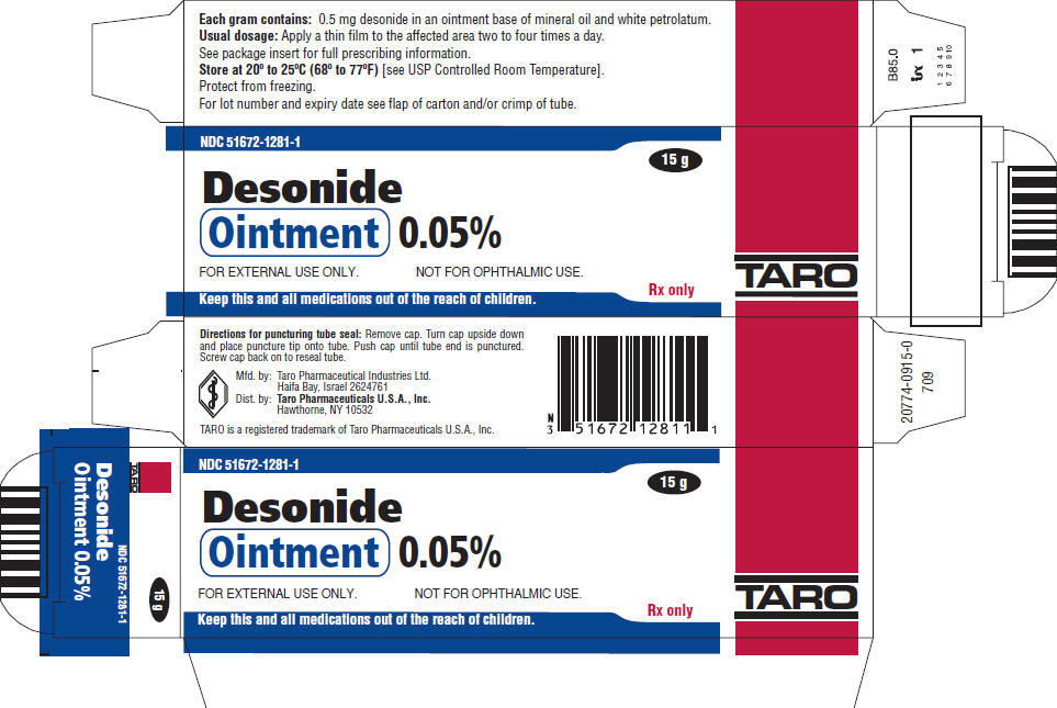 PRINCIPAL DISPLAY PANEL - 15 g Ointment Tube Carton
