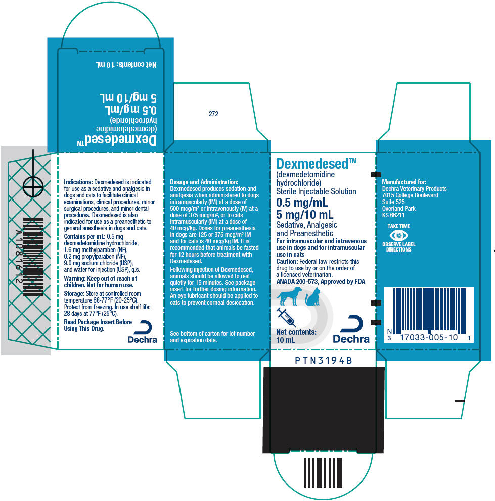 PRINCIPAL DISPLAY PANEL - 5 mg/10 mL Vial Carton