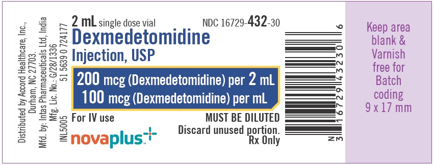 Dexmedetomidine100 mcg-mL-label