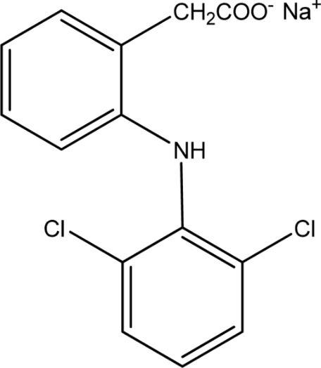 Chemical Structure- Diclofenac